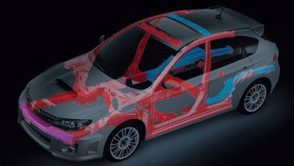 WRXSTI 2013 Advanced Ring-shaped Reinforcement Frame